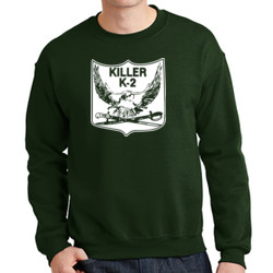 K-2 Crewneck Sweatrshirt